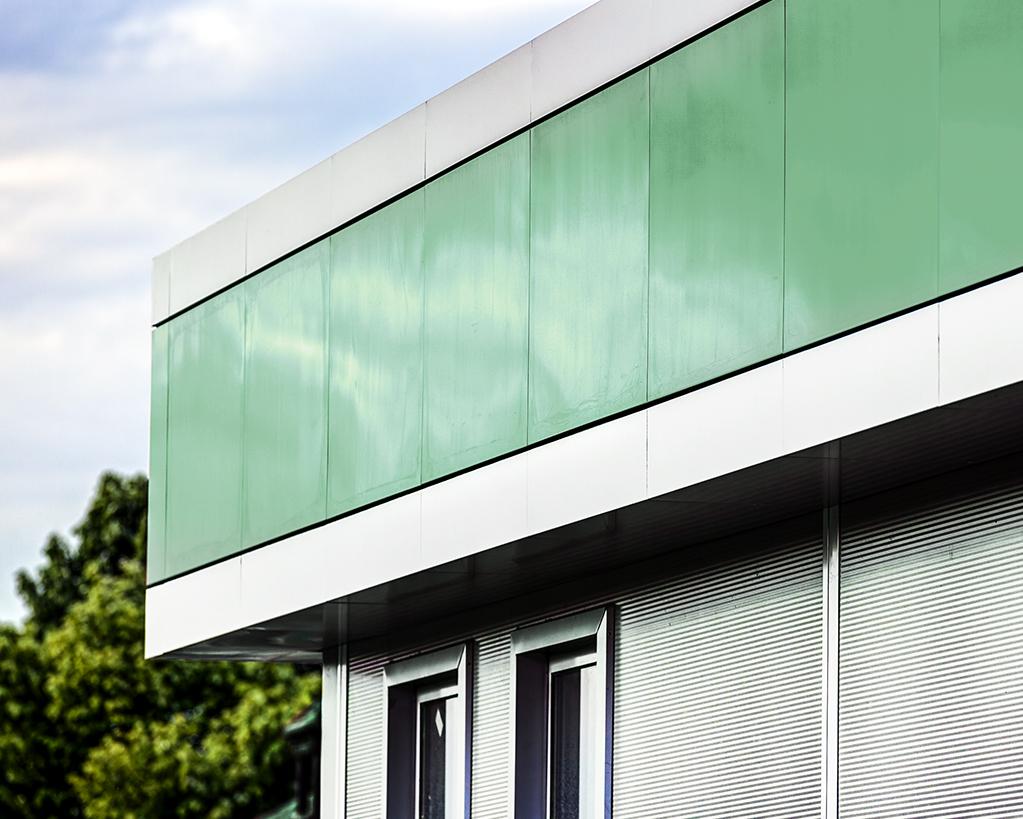 Dächer und Fassaden für Gewerbe und Industrie