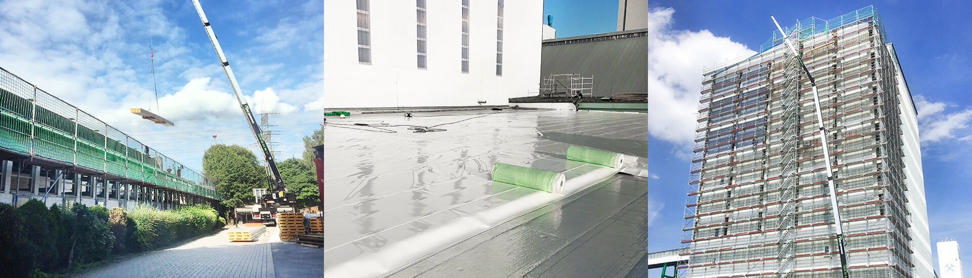 Referenzen für Dächer und Fassadenverkleidungen